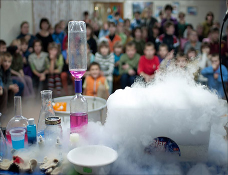 Научное химическое шоу